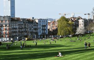 Parque do FOREST se torna palco de DISPUTAS por PODER entre JOVENS BRASILEIROS em Bruxelas