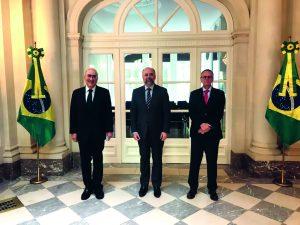 Nova sede da Embaixada do Brasil em Bruxelas